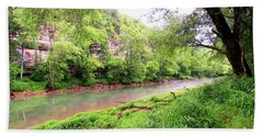 Caney Fork River Bath Towel