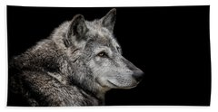 Canis Lupus Hand Towel