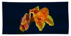 Canna Hand Towel by Kenneth Albin