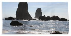 Cannon Beach II Hand Towel