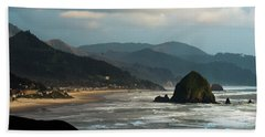 Cannon Beach, Oregon Bath Towel