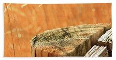 Cantigny Fence Post Hand Towel by Joni Eskridge