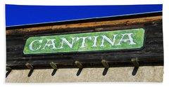 Cantina  Hand Towel by Tony Grider
