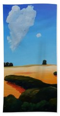 Canvas 2 Of Triptych Hand Towel