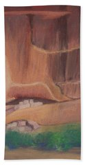 Canyon De Chelly Cliffdwellers #2 Hand Towel