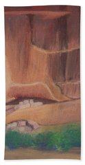 Canyon De Chelly Cliffdwellers #2 Bath Towel
