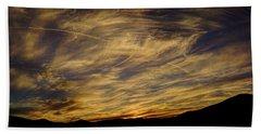 Canyon Hills Sunset Bath Towel