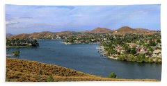 Canyon Lake Panorama Hand Towel