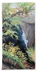 Canyon Land Hand Towel by Linda Shackelford