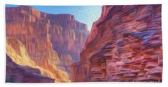 Canyon Light Hand Towel by Walter Colvin