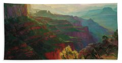 Canyon Silhouettes Bath Towel