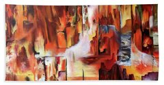 Canyon Walls Bath Towel