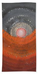 Canyon Wave Original Painting Hand Towel