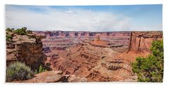 Bath Towel featuring the photograph Canyonlands Near Moab by James Woody