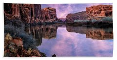 Canyonlands Sunset Bath Towel