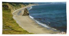 Cape Blanco On The Oregon Coast By Michael Tidwell Bath Towel