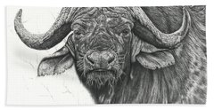 Cape Buffalo Hand Towel