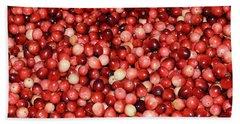 Cape Cod Cranberries Bath Towel
