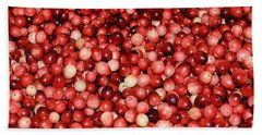 Cape Cod Cranberries Hand Towel