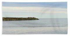 Cape Cod Jetty Sundown Hand Towel