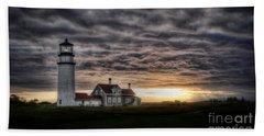 Cape Cod Lighthouse Bath Towel