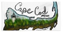 Cape Cod, Mass. Hand Towel