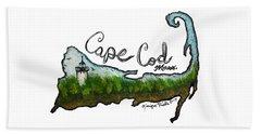 Cape Cod, Mass. Bath Towel