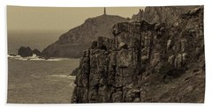 Cape Cornwall - Square Bath Towel