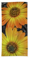 Cape Daisy's - Orange Bath Towel
