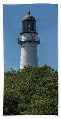 Cape Elizabeth Lighthouse Tower Hand Towel