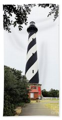 Cape Hatteras Lighthouse Bath Towel by Shelia Kempf