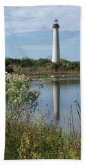 Cape May Lighthouse II Bath Towel