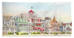 Cape May Promenade Cape May New Jersey Hand Towel