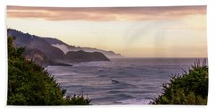 Cape Perpetua, Oregon Coast Bath Towel