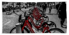Capital Bikeshare Bath Towel