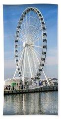 Capital Ferris Wheel Hand Towel