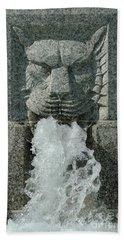 Senate Fountain Lion Bath Towel