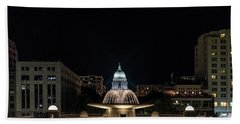 Capitol And Fountain Bath Towel