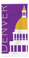 Denver Capitol/purple Bath Towel