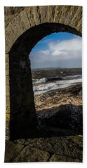 Cappagh Pier And Ireland's Shannon Estuary Hand Towel