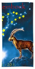 Capricornus Bath Towel