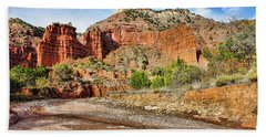 Caprock Canyon Hand Towel