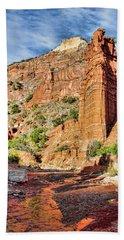 Caprock Canyon Cliff Hand Towel