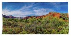 Caprock Canyon Panorama 2 Hand Towel