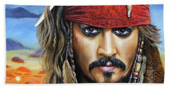 Captain Jack Hand Towel