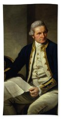 Captain James Cook Bath Towel