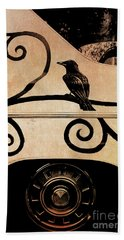 Car Art Bath Towel