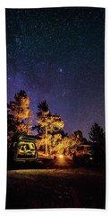 Car Camping Hand Towel by Alpha Wanderlust