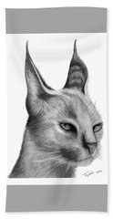 Caracal Hand Towel