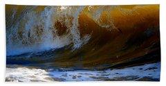 Caramel Swirl Hand Towel by Dianne Cowen